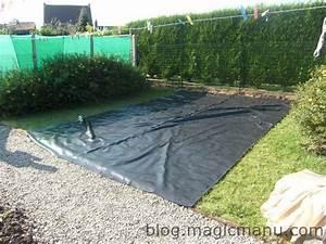 Bache Separation Jardin : bassin de jardin la b che ~ Premium-room.com Idées de Décoration