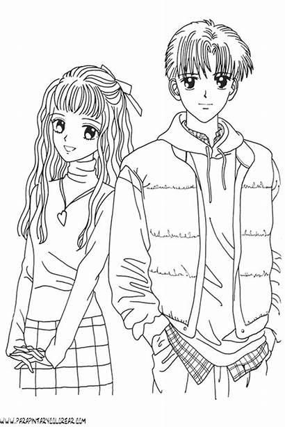 Boy Dibujos Marmalade Colorear Anime Manga Imprimir