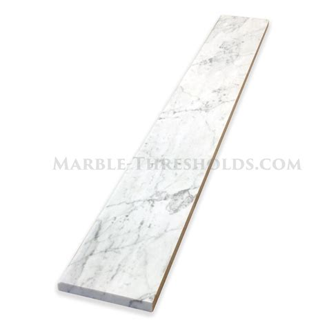 carrara marble threshold carrara white marble window sills size 6 x 36 x 3 4 inch