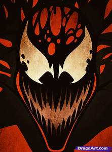 How to Draw Carnage Easy, Step by Step, Marvel Characters ...