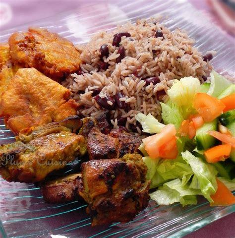 recette avec de cuisine griot haïtien une plume dans la cuisine