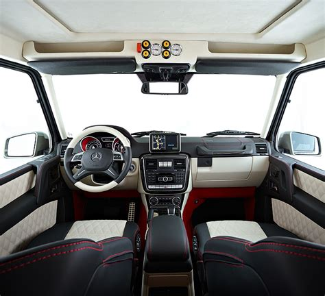 mercedes benz g class 6x6 interior g 63 amg 6x6 the automotive declaration of independence