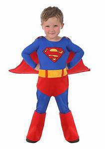 Child Cuddly Superman Costume