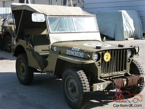 ford military jeep ww ii ww 2 1 4 ton 1942 ford gpw military jeep