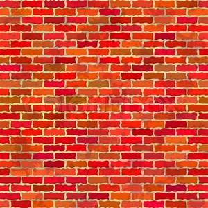 Brick wall, seamless stock vector