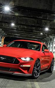 Download Red Ford Mustang GT Performance Pack Level 2 Free Pure 4K Ultra HD Mobile Wallpaper