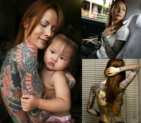 shoko tendo daughter   yakuza boss depicts