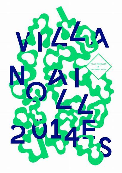 Poster Noailles Submitted Flyer Villa Typography Graphic
