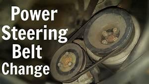 Vw T4 Power Steering Belt Change