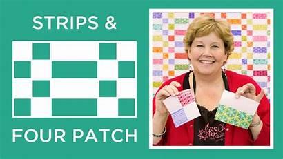 Quilt Patch Star Four Strips Tutorials Missouri