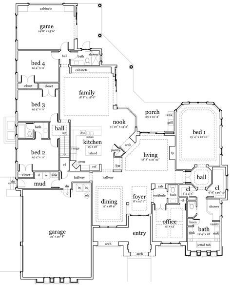 cool floor plans cool house plans a frame cottage house plans