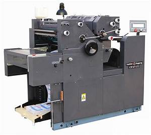 cf470spj 2 colors computer form printing press machine With invoice printer machine