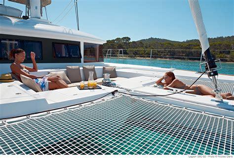 Catamaran With Net by Lagoon Catamaran Sale Rental Catamaran And Luxurious