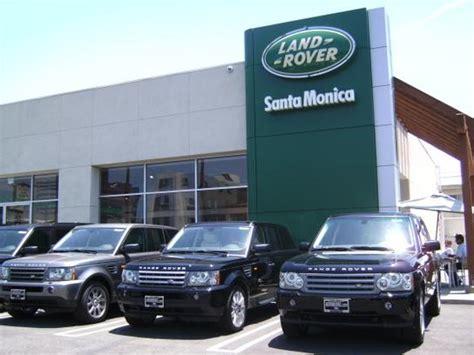 hornburg jaguar land rover santa monica car dealership