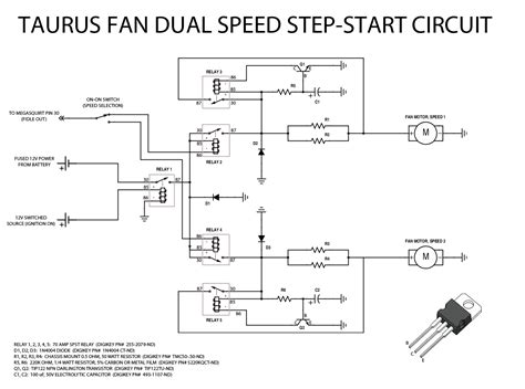Transistors Basic Step Start Circuit For Automotive
