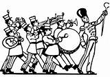 Coloring Pages Band Bands Jazz Printable Sketch Template Getcolorings sketch template