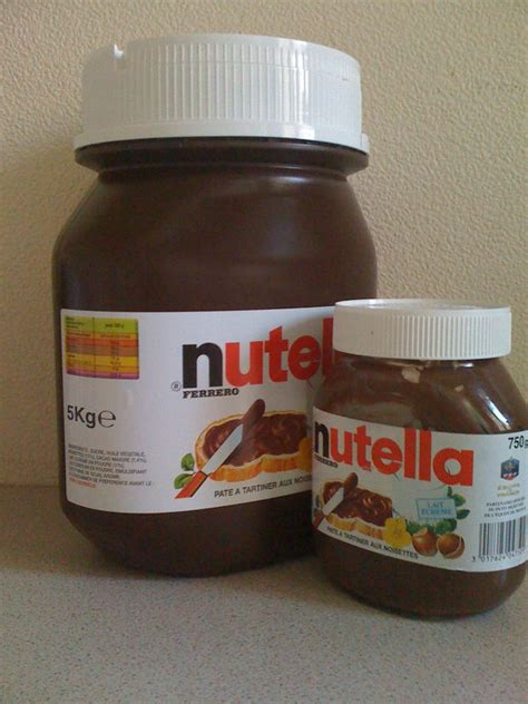 gros pot de nutella 5 kg prix pot nutella 10 kg prix