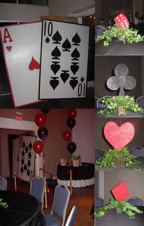 diy casino party decorations     budget diy