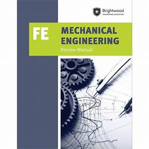 Mechanical Engineering  Fe Review Manual  Paperback