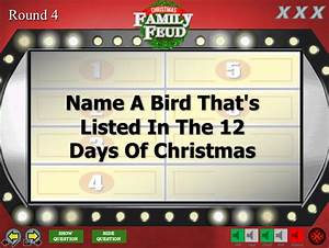 christmas family feud trivia powerpoint game mac and pc With family feud powerpoint template with sound