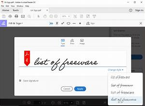 8 best free digital signature software for windows for Best document signing software