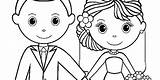 Groom Bride Coloring Personalized Printable Template Dead Activity Cartoon Couple Reception Children Getdrawings Getcolorings Printables Activities Templates Busy Keep sketch template
