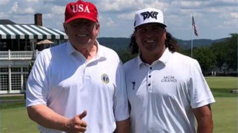 John Daly calls round with President Trump 'one of the ...
