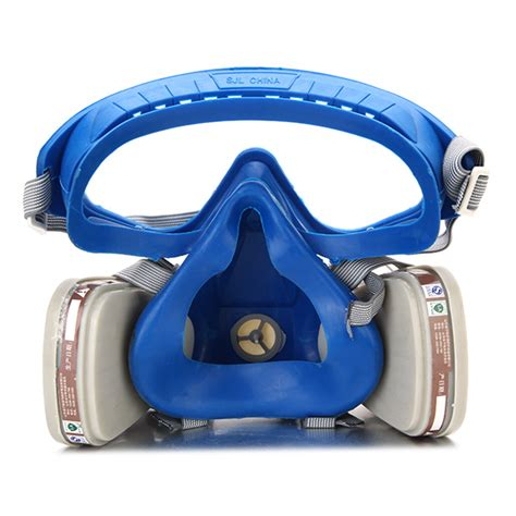 gas comprehensive cover paint chemical mask goggles face