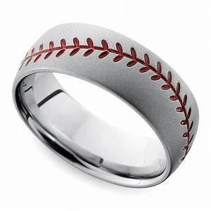 Cool Men39s Wedding Rings For Sports Fanatics