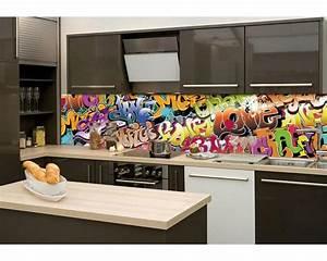 Folie Für Küchenrückwand : k chenr ckwand folie graffiti 260 x 60 cm dimex ~ Lizthompson.info Haus und Dekorationen