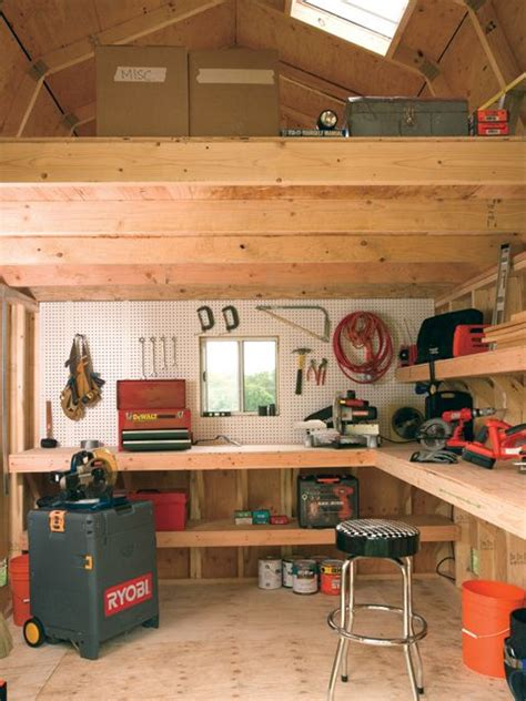 interior of tuff shed barn the shed
