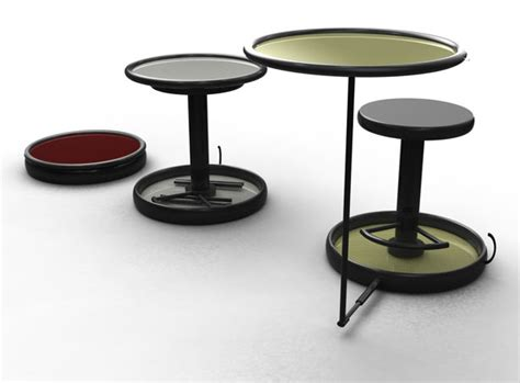 foldable and compact table and chair for traveling tuvie