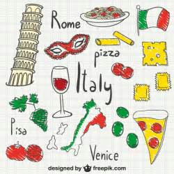 italien design italy drawings pack vector free
