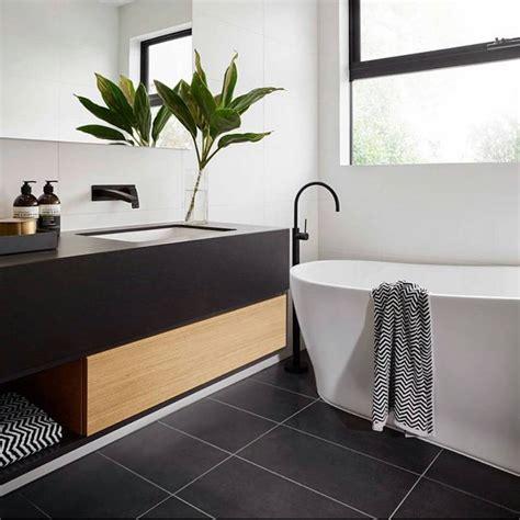 Vanité Salle De Bain Moderne by Mod 232 Le Carrelage Salle De Bain Noir Et Blanc 25 D 233 Cors O 249