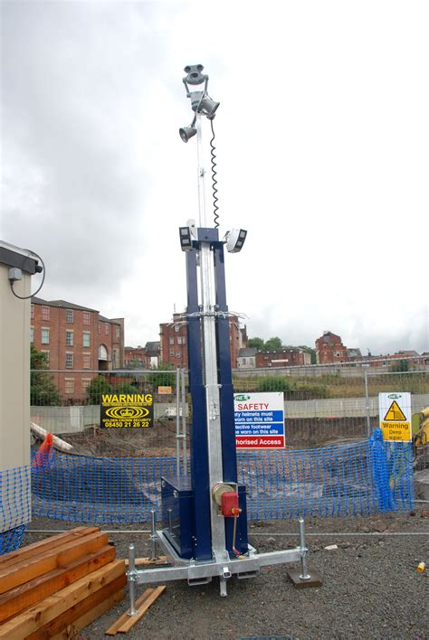 optex redwall puts wcctv towers track professional security