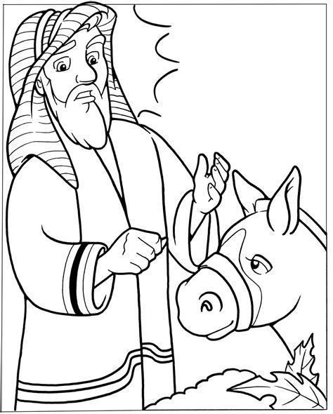 Balaam And The Talking Donkey Crafts Google Search