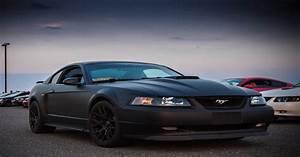 My 03 Matte Black Mach 1 : Mustang