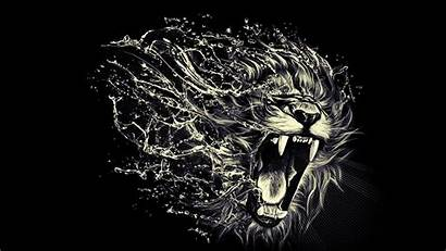 Lion Roaring Wallpapers Wallpaperplay