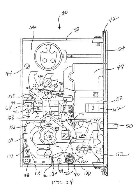 Whitco Wiring Diagram by Patent Us6349982 Reversible Mortise Lock Patenten