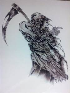 Cool Grim Reaper Drawings Pictures to Pin on Pinterest ...