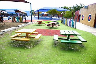 Areas Playgrounds Outdoor Seated Sitting Outside Area