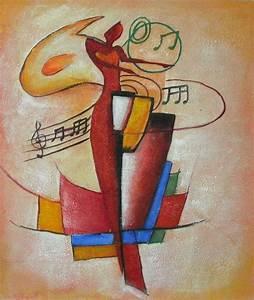 Tableau Peinture Sur Toile : tableau musique jazz ew61 montrealeast ~ Teatrodelosmanantiales.com Idées de Décoration