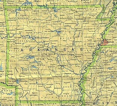 Arkansas Maps - Perry-Castañeda Map Collection - UT ...