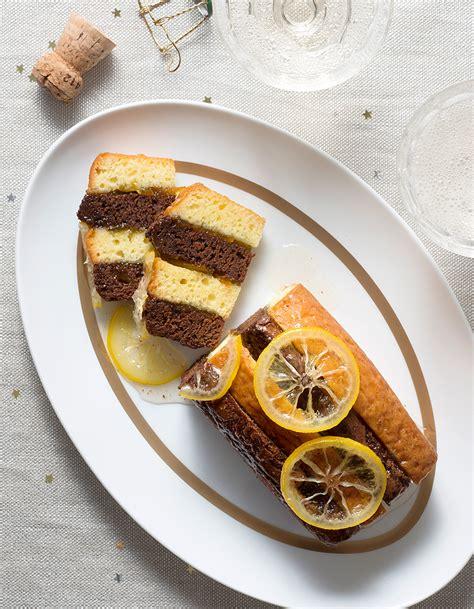 recette de cuisine noel bûches citron chocolat pour 10 personnes recettes