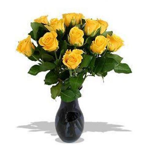 Dzeltenas rozes 50 cm ar ziedu piegādi Rīgā un Latvijā.