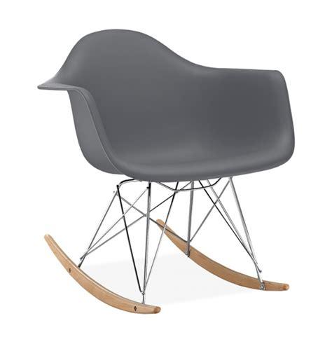 chaise a bascule rar chaise à bascule rar style eames secret design