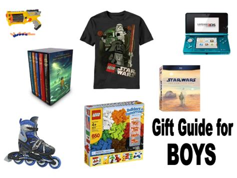 a gift guide for boys