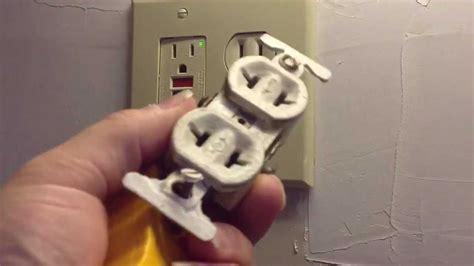 ungrounded plug test youtube