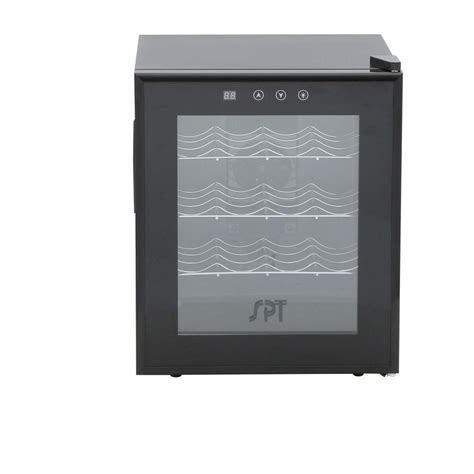 thermoelectric wine cooler spt 16 bottle thermoelectric wine cooler with heating wc