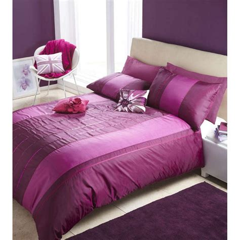 Bed Cover Sets by Bed Purple Plum Sequin Quilt Cover Set